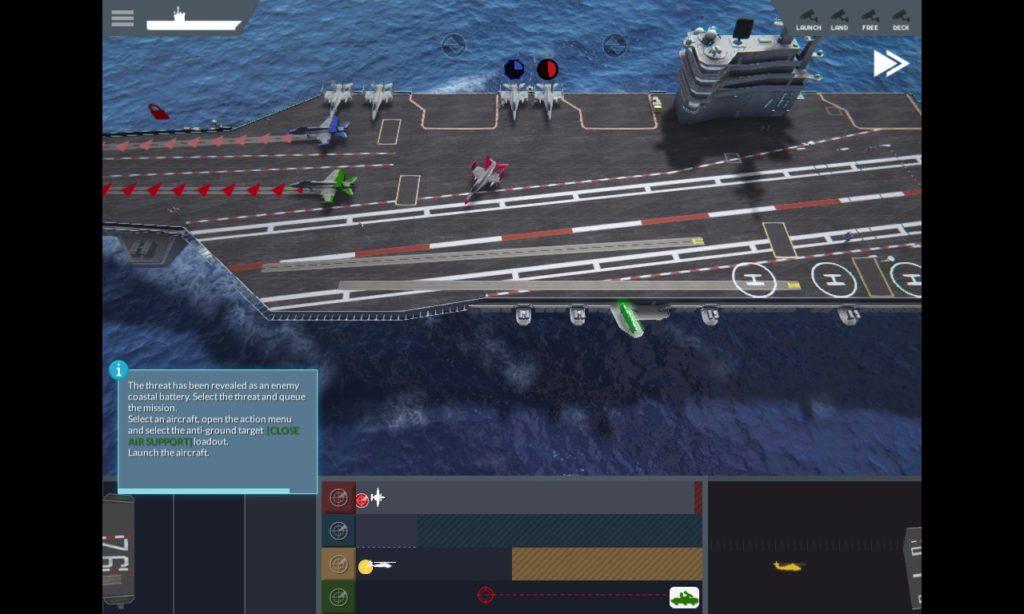 空母 運用ゲーム Carrier Deck 01