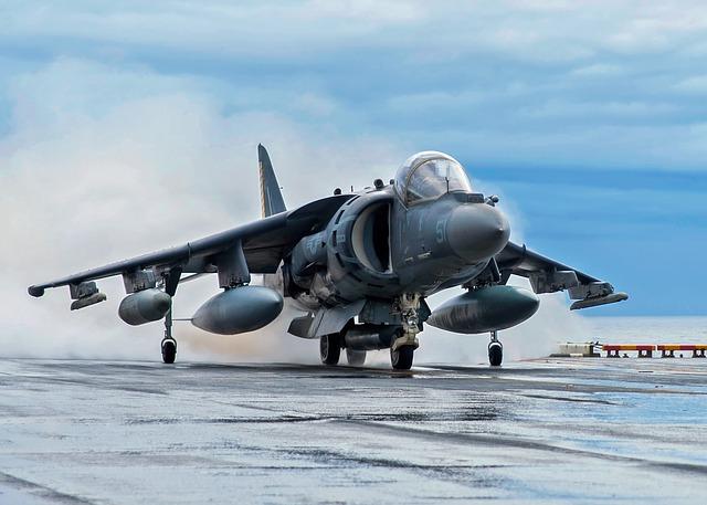 carrier deck AV-8B