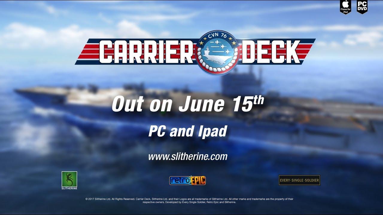 carrier deck title