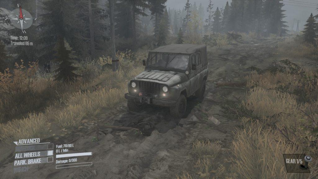 spintires mudrunner 攻略 車両 A-469 01