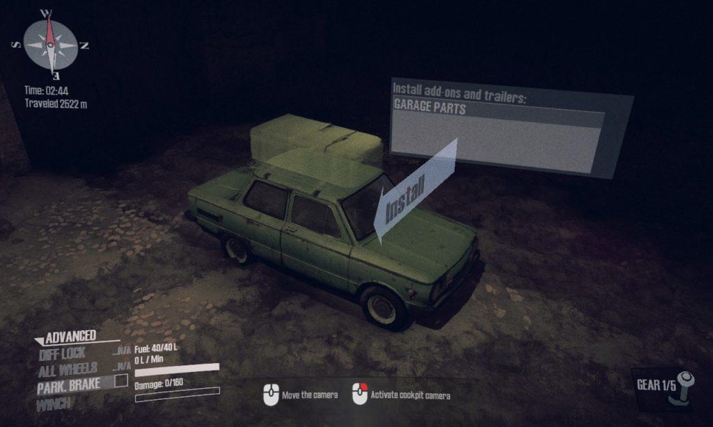 spintires: mudrunner 攻略 ガレージ系 01