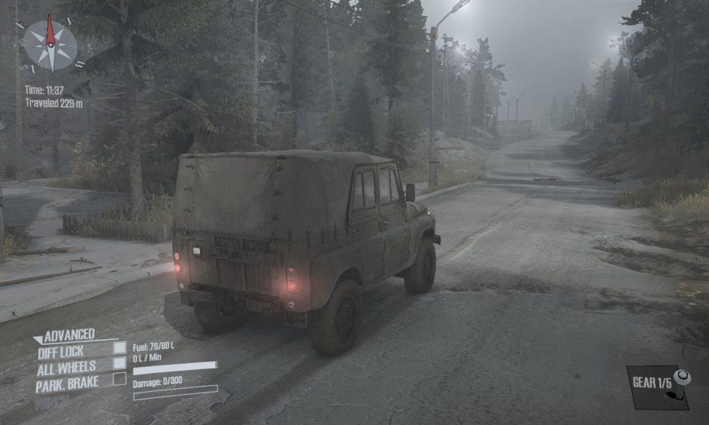 spintires mudrunner 攻略 車両 A-469 05