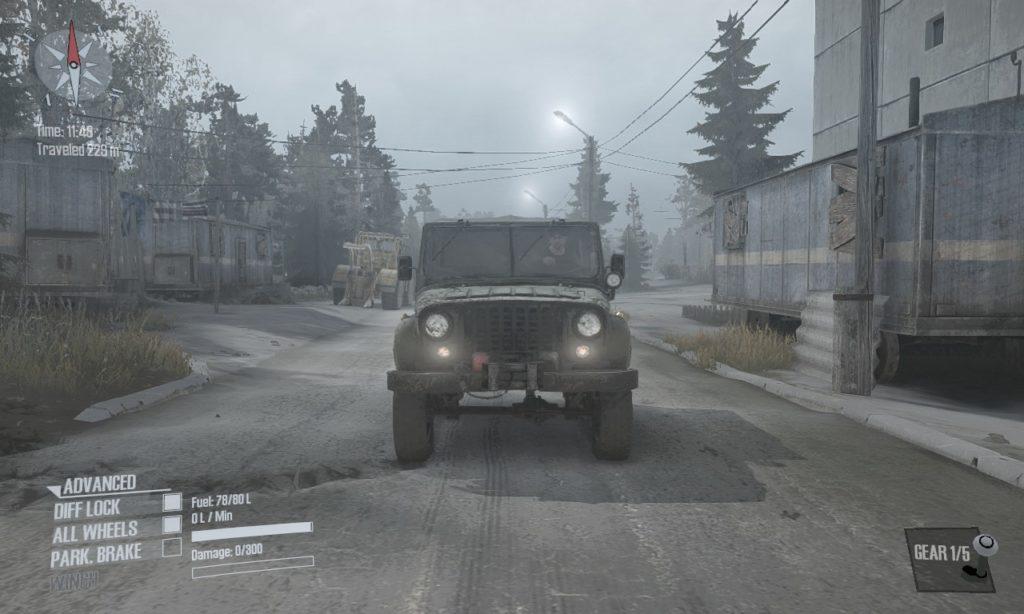 spintires mudrunner 攻略 車両 A-469 02
