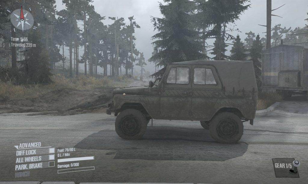 spintires mudrunner 攻略 車両 A-469 04