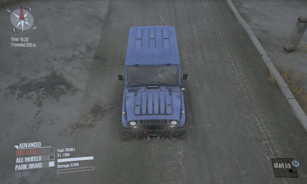 spintires mudrunner 攻略 車両 A-3151 03