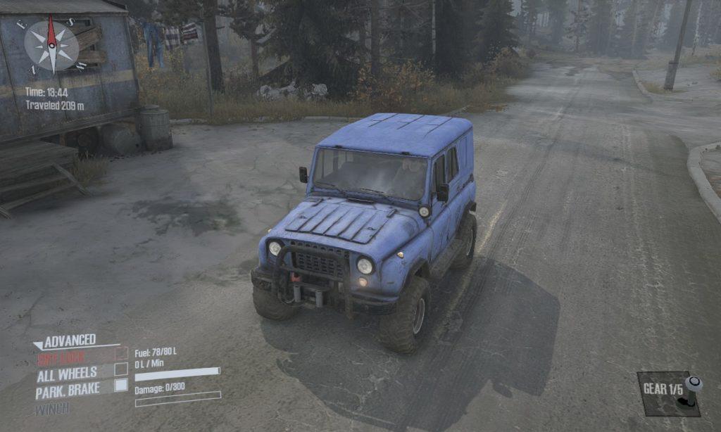 spintires mudrunner 攻略 車両 A-3151 04
