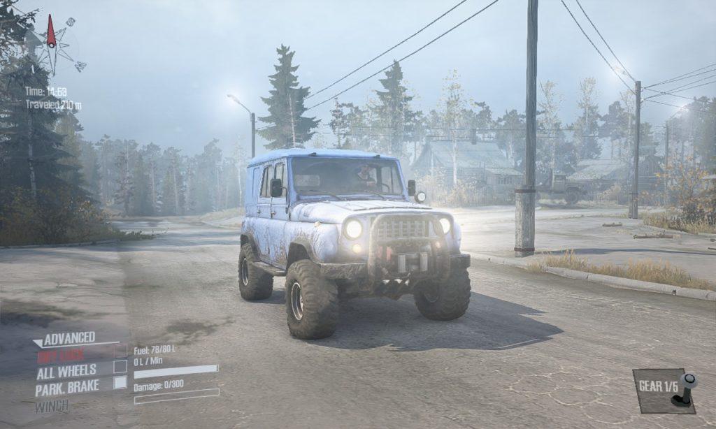 spintires mudrunner 攻略 車両 A-3151 01
