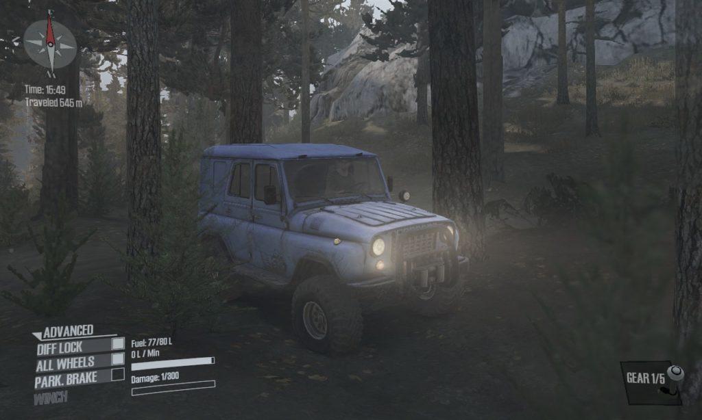 spintires mudrunner 攻略 車両 A-3151 07