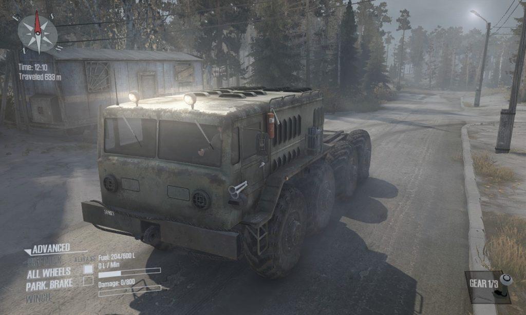 spintires: mudrunner 攻略 D-535 01