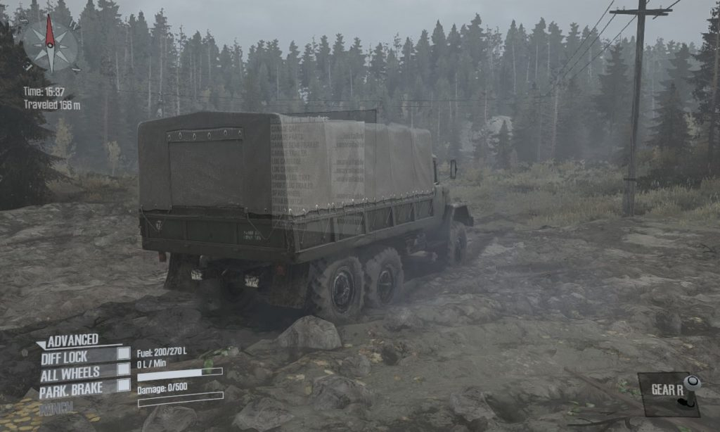 spintires: mudrunner 攻略 ガレージ系 03