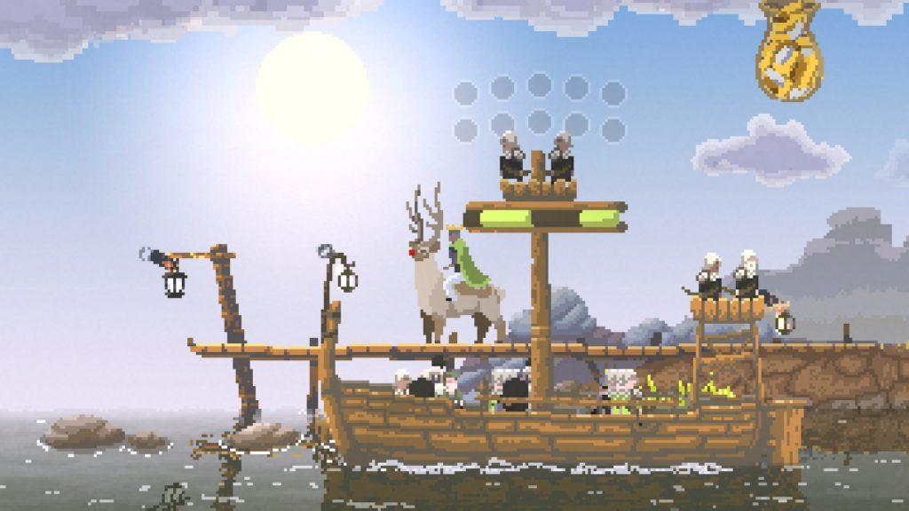kingdom: new lands 攻略 騎士の乗船
