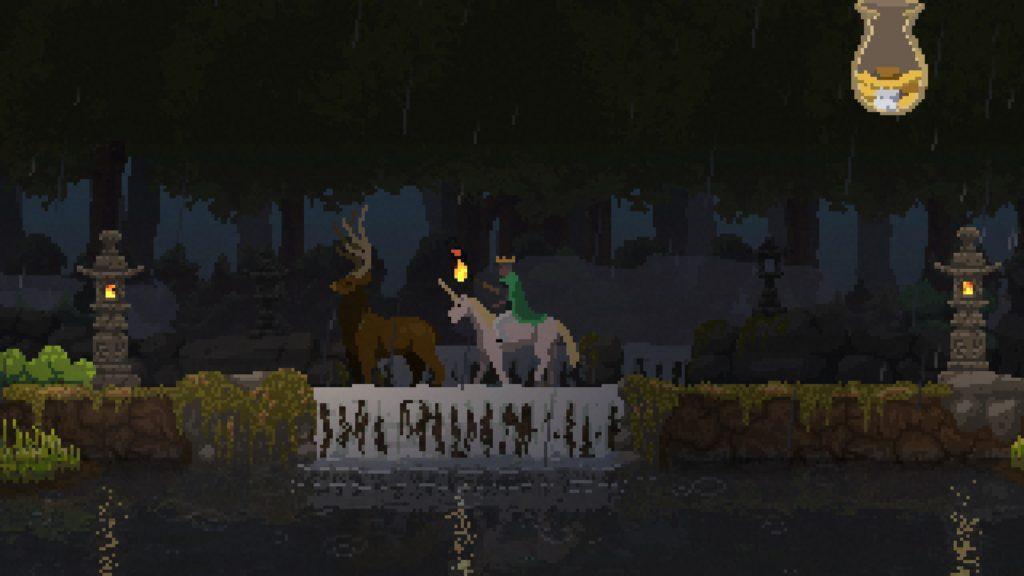 kingdom: new lands 攻略 滝と石燈籠