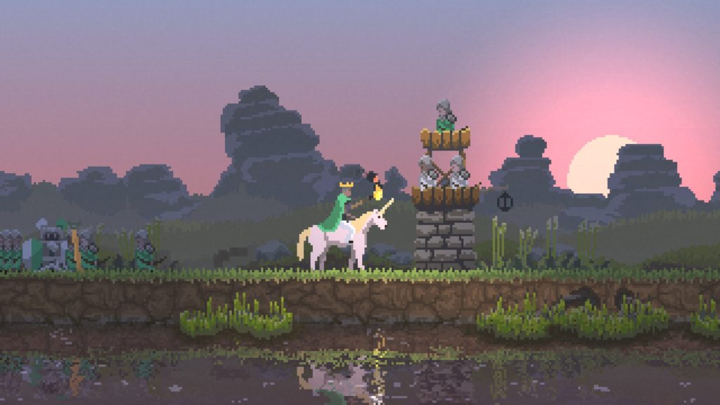 kingdom: new lands 攻略 石造りの重塔