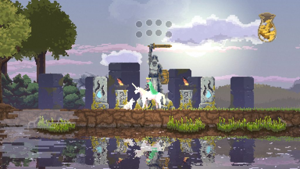 Kingdom New Lands 石像 騎士の石像 01
