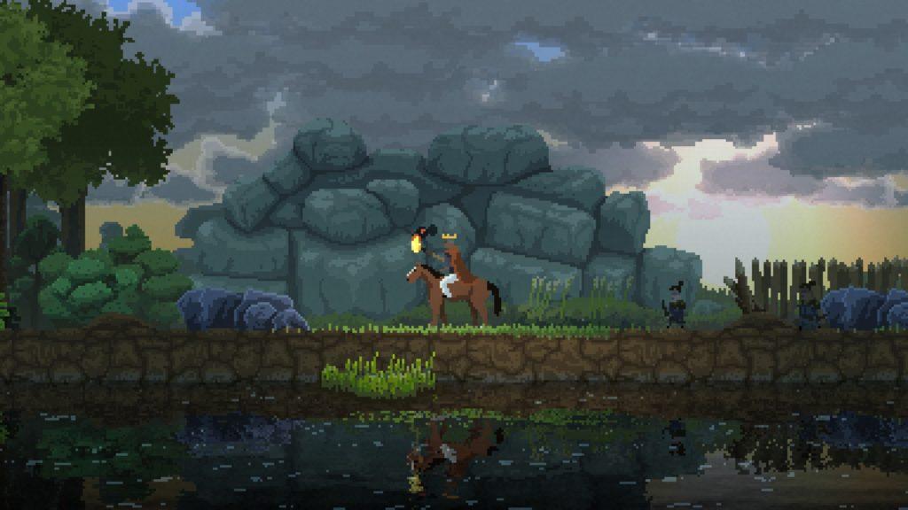 kingdom new lands 攻略 茶色と黒の馬