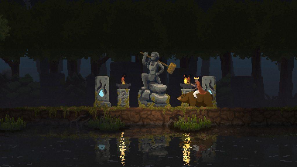 Kingdom New Lands 石像 建設者の石像