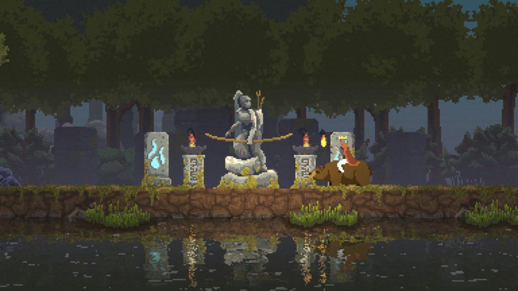 Kingdom New Lands 石像 射手の石像 01