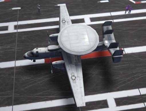 carrier deck E2-C