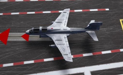 carrier deck E/A-6B