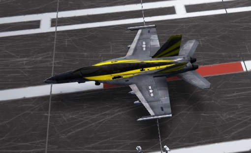 carrier deck fighters F/A-18E