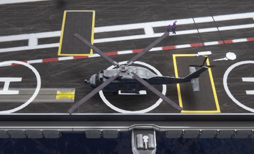 carrier deck SH-60