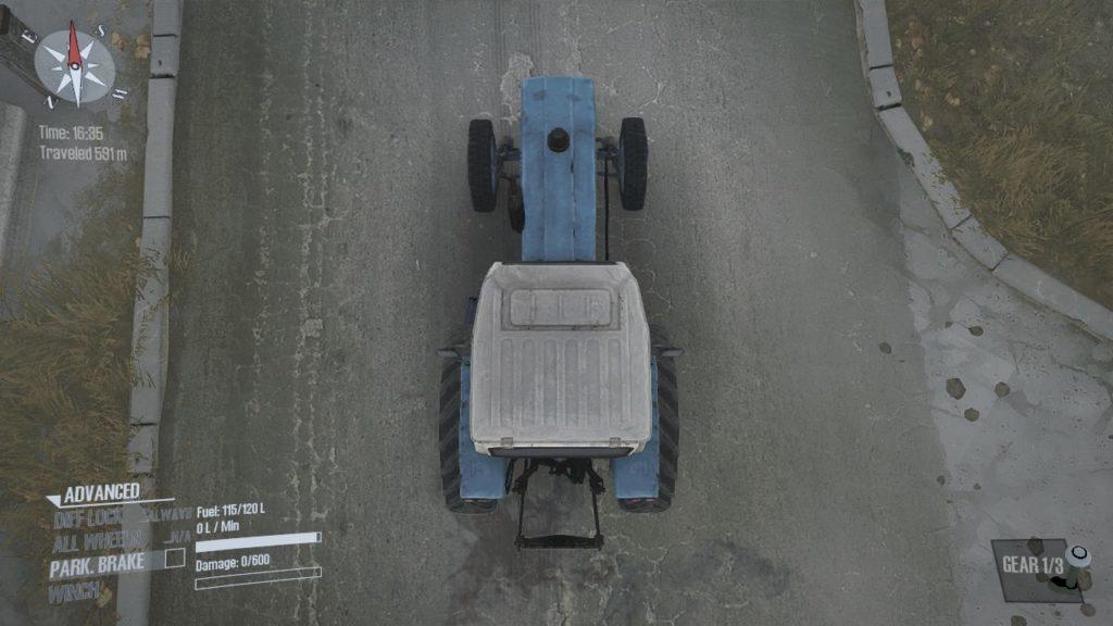 Spintires:Mudrunner B-6A 06