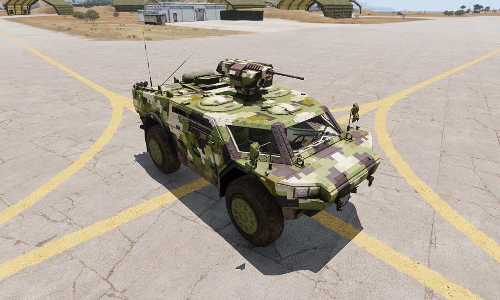 Arma 3 Strider HMG