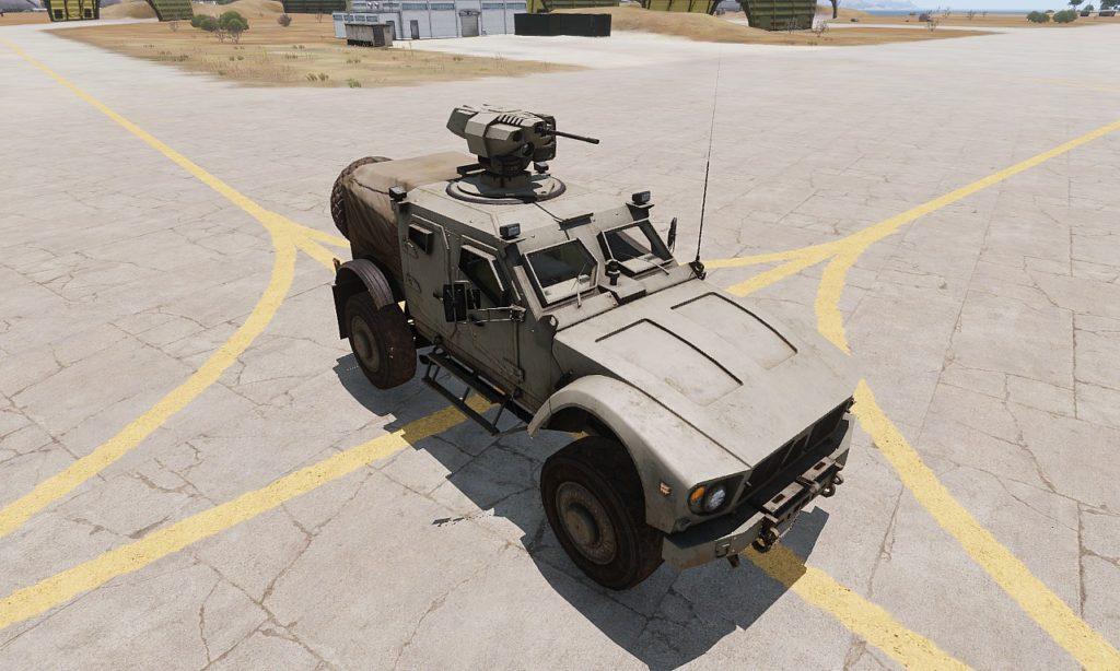 Arma 3 Hunter HMG