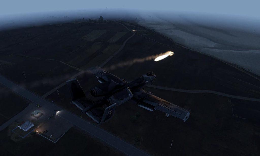 Arma 3 A-164 Missile (based A-10 )