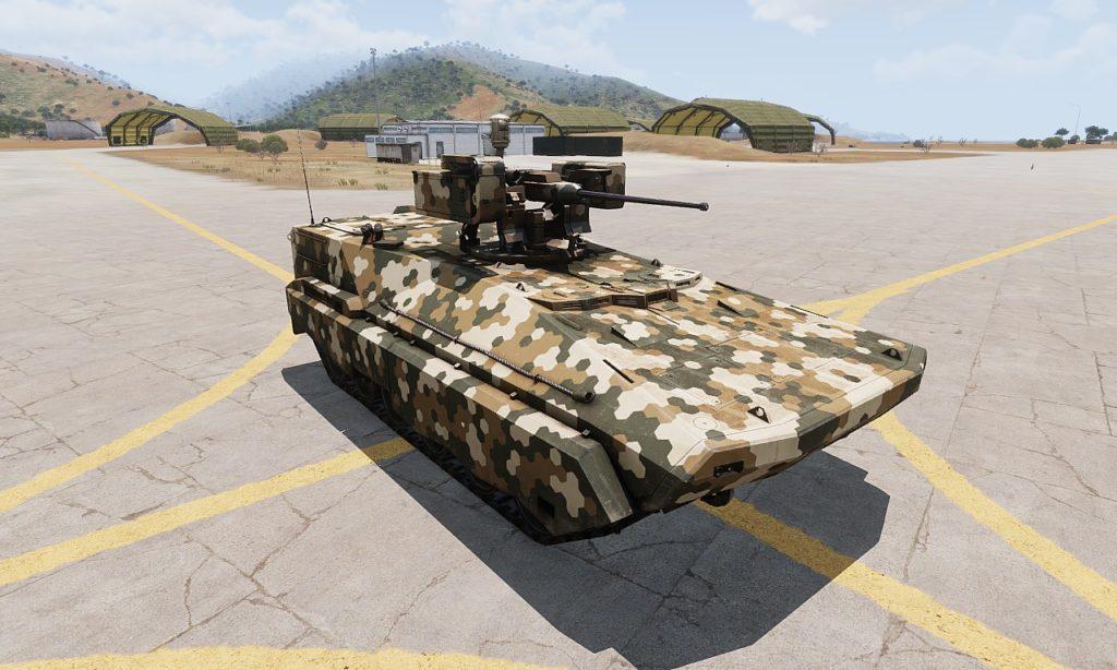 Arma 3 BTR-K Kamysh 01