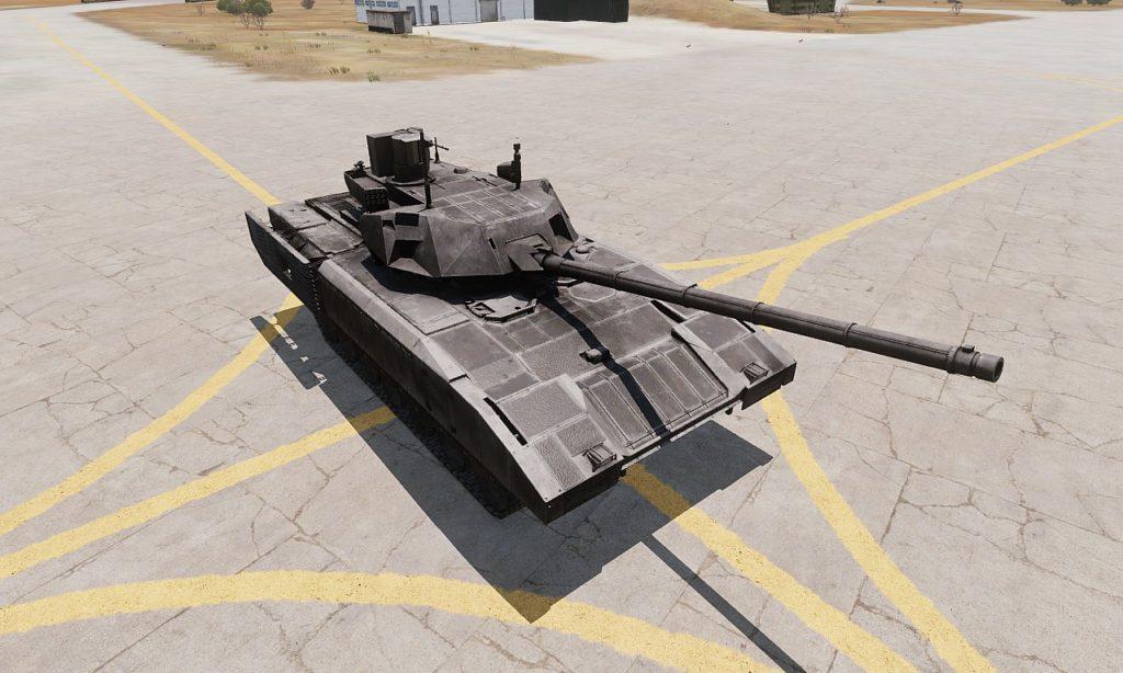 Arma 3 Tanks DLC T-140 Angara 01