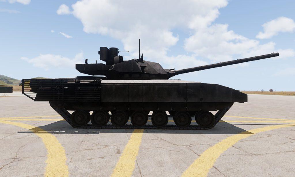 Arma 3 Tanks DLC T-140 Angara 06