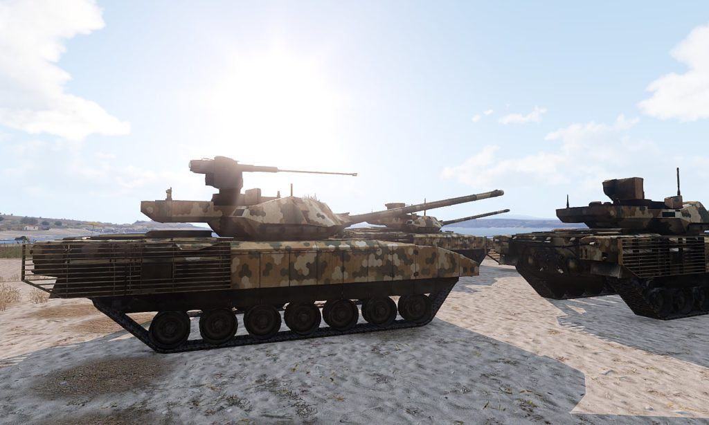 Arma 3 Tanks DLC T-140 Angara 02
