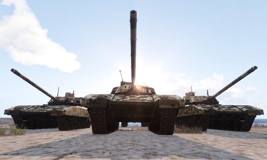 Arma 3 Tanks DLC T-140 Angara 03