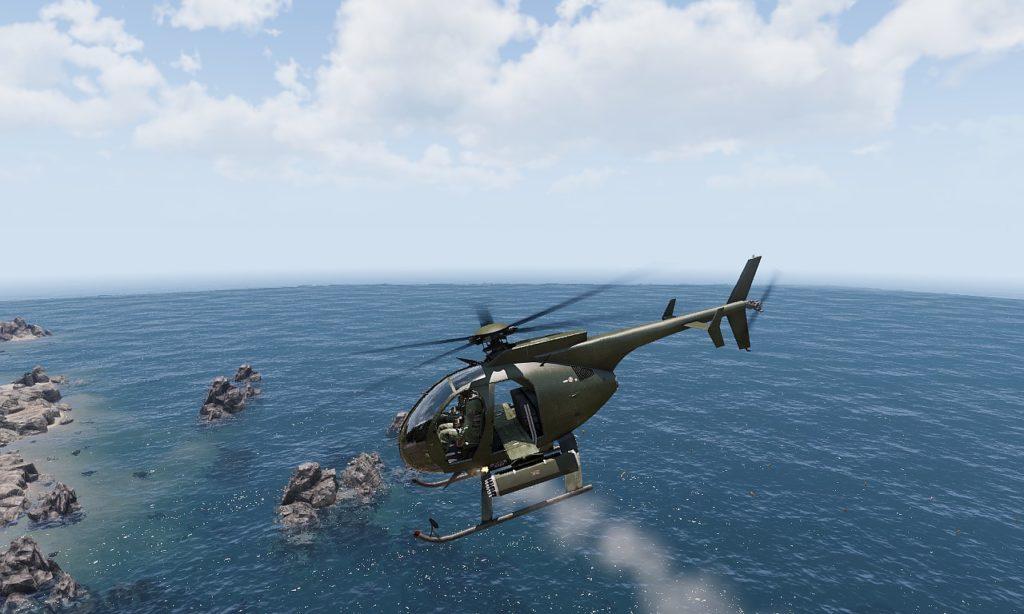 Arma3 AH-9 Pawnee 01