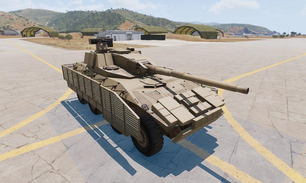 Arma3 Tank DLC Rhino MGS UP