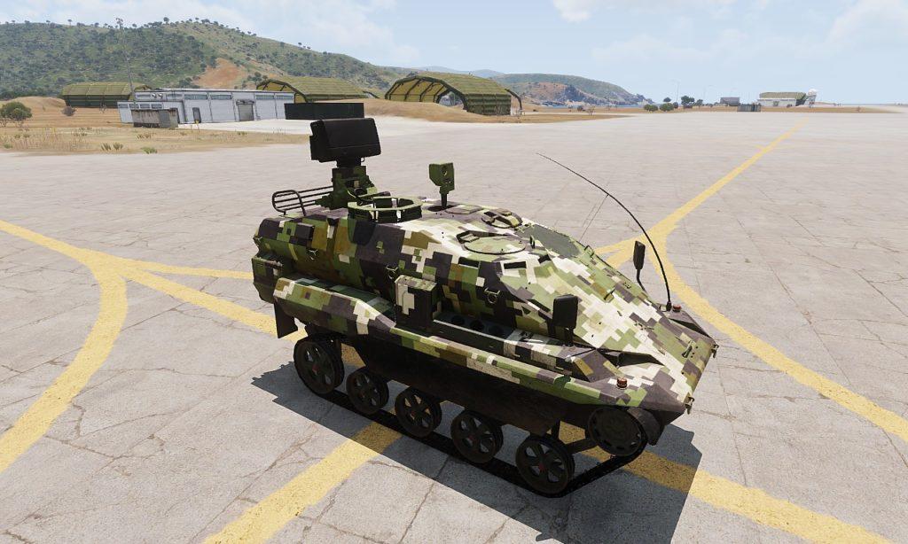 Arma 3 Tanks DLC AWC Nyx Recon