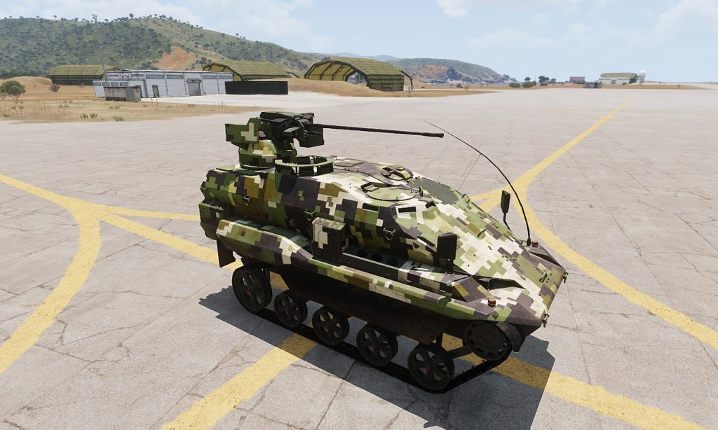 Arma 3 Tanks DLC AWC Nyx 20mm