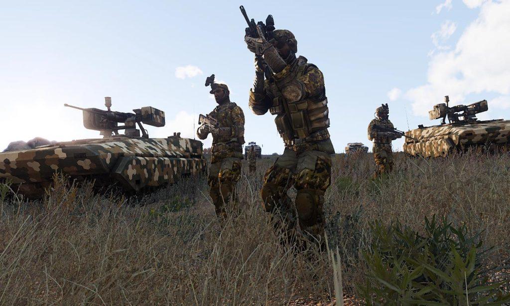 Arma 3 BTR-K Kamysh 04