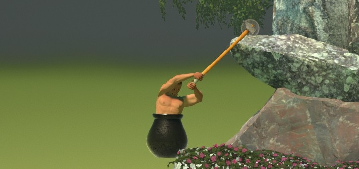 Getting Over It Jump 01
