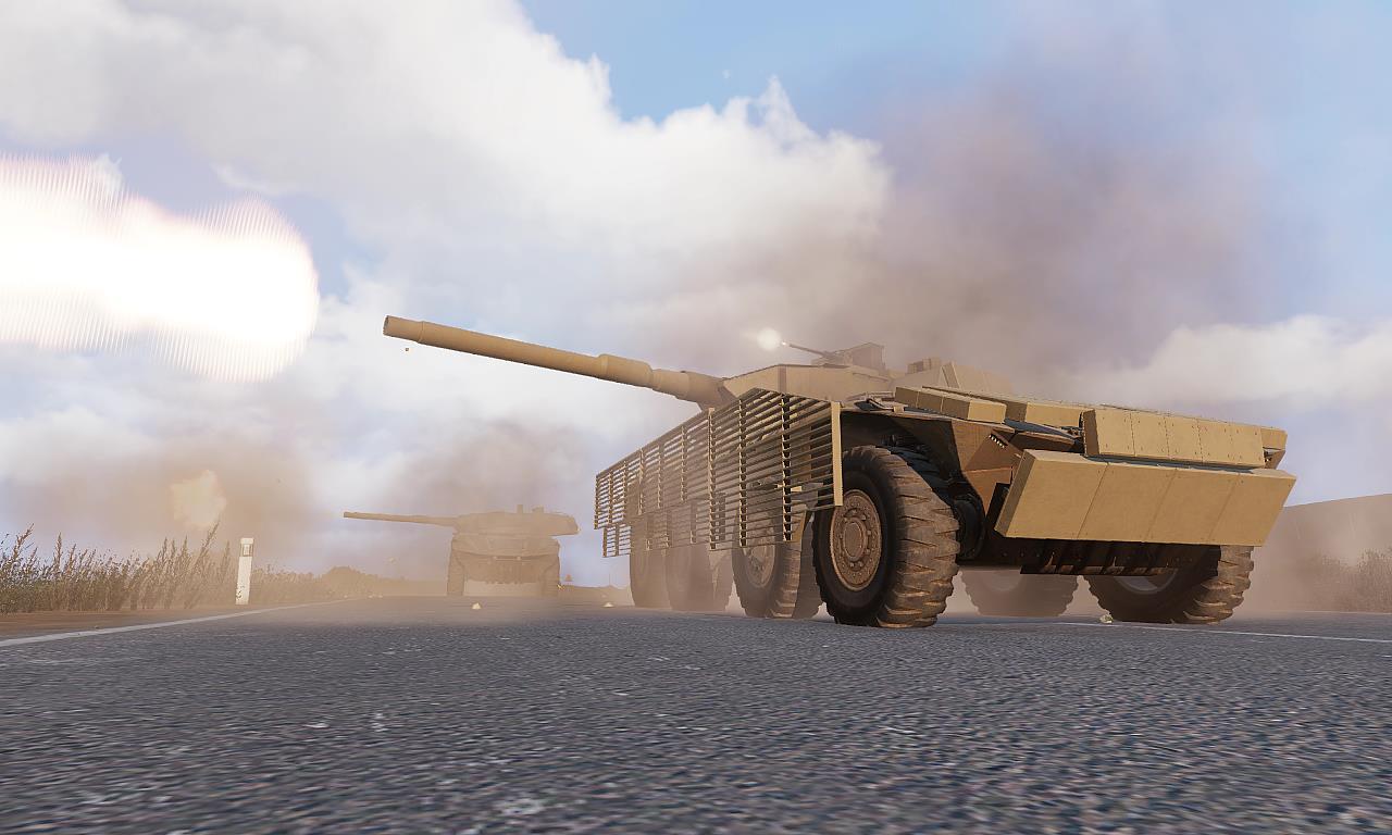 Arma 3 Rhino MGS Shot