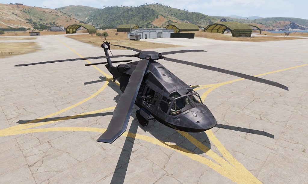 Arma3 UH-80 Ghost Hawk View 01