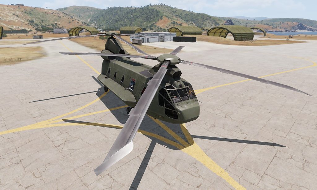 Arma3 Helicopters DLC CH-67 Huron