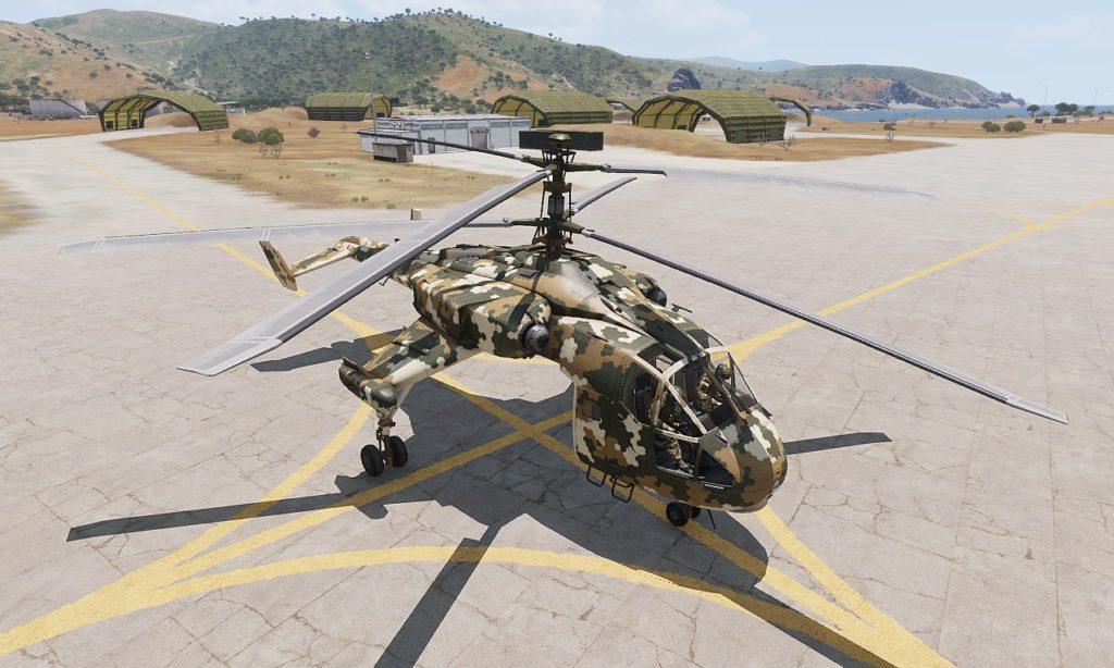 Arma 3 Helicopters DLC Mi-290 Taru