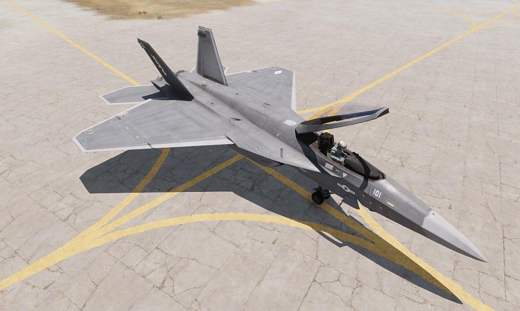 Arma 3 Jets DLC F/A-181 Black Wasp 2  02