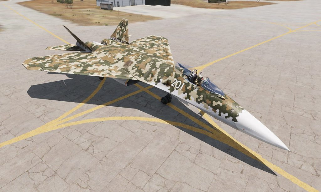 Arma3 Jets DLC To-201 Shikra Stealth