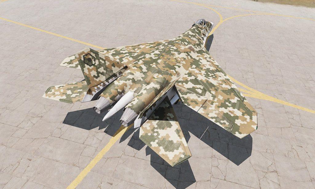 Arma3 Jets DLC To-201 Shikra 05