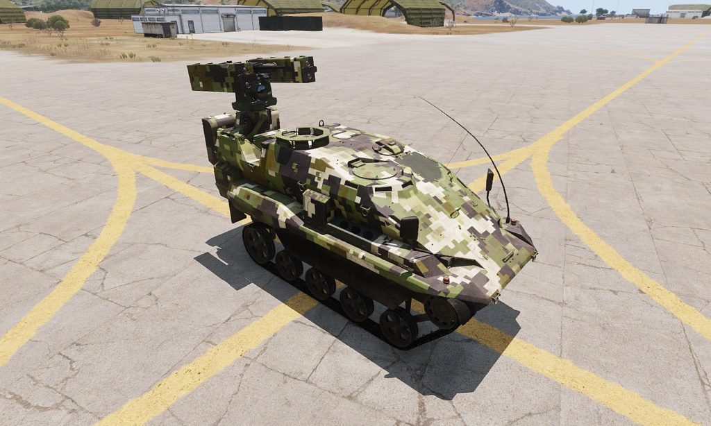 Arma 3 Tanks DLC AWC Nyx Anti Air