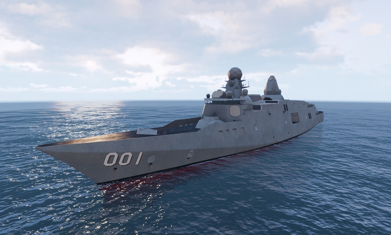 Arma3 アップデート イージス艦と対空ミサイルなど追加