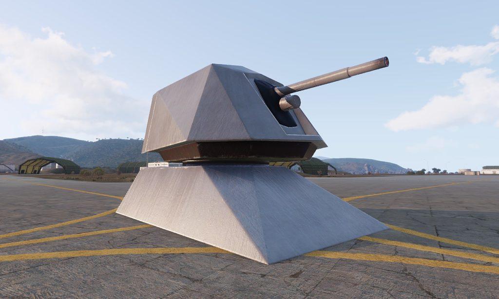 Arma 3 Naval Gun
